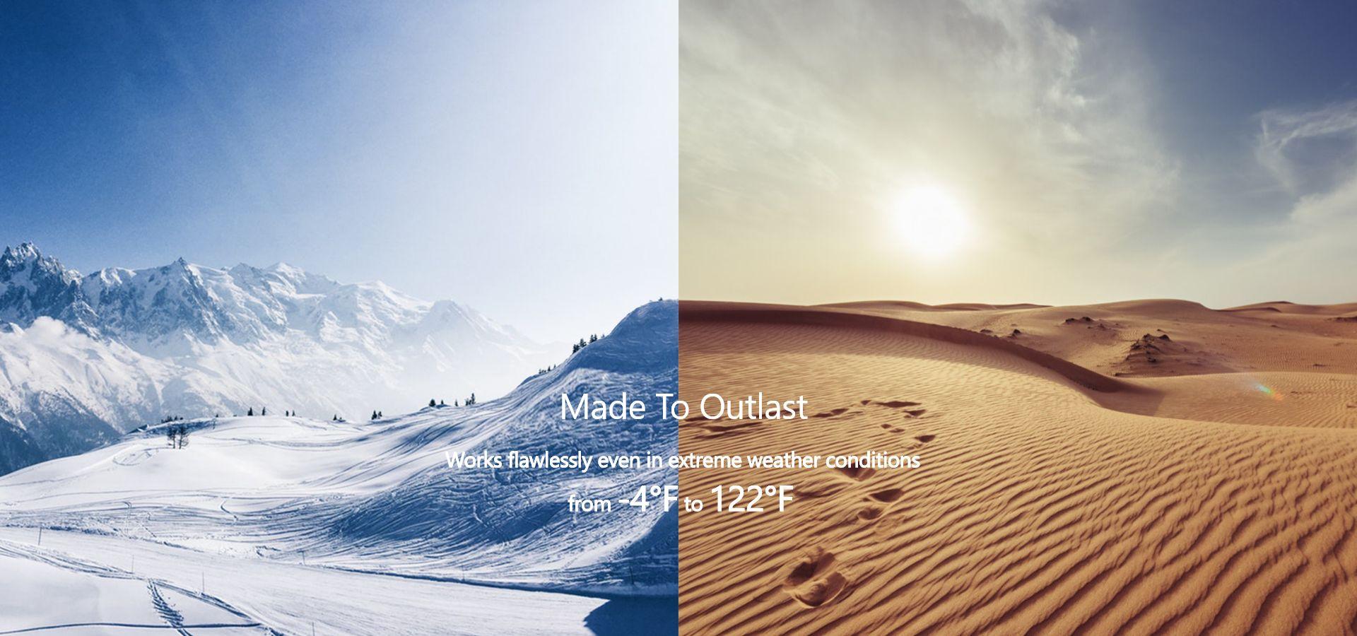 VAVA Dash Hoạt động ở nhiệt độ cao