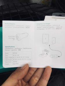 Sách hướng dẫn sự dụng sạc Ravpower Delivery