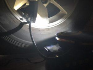 Bơm lốp GoodYear GY3301chiếu sáng đem