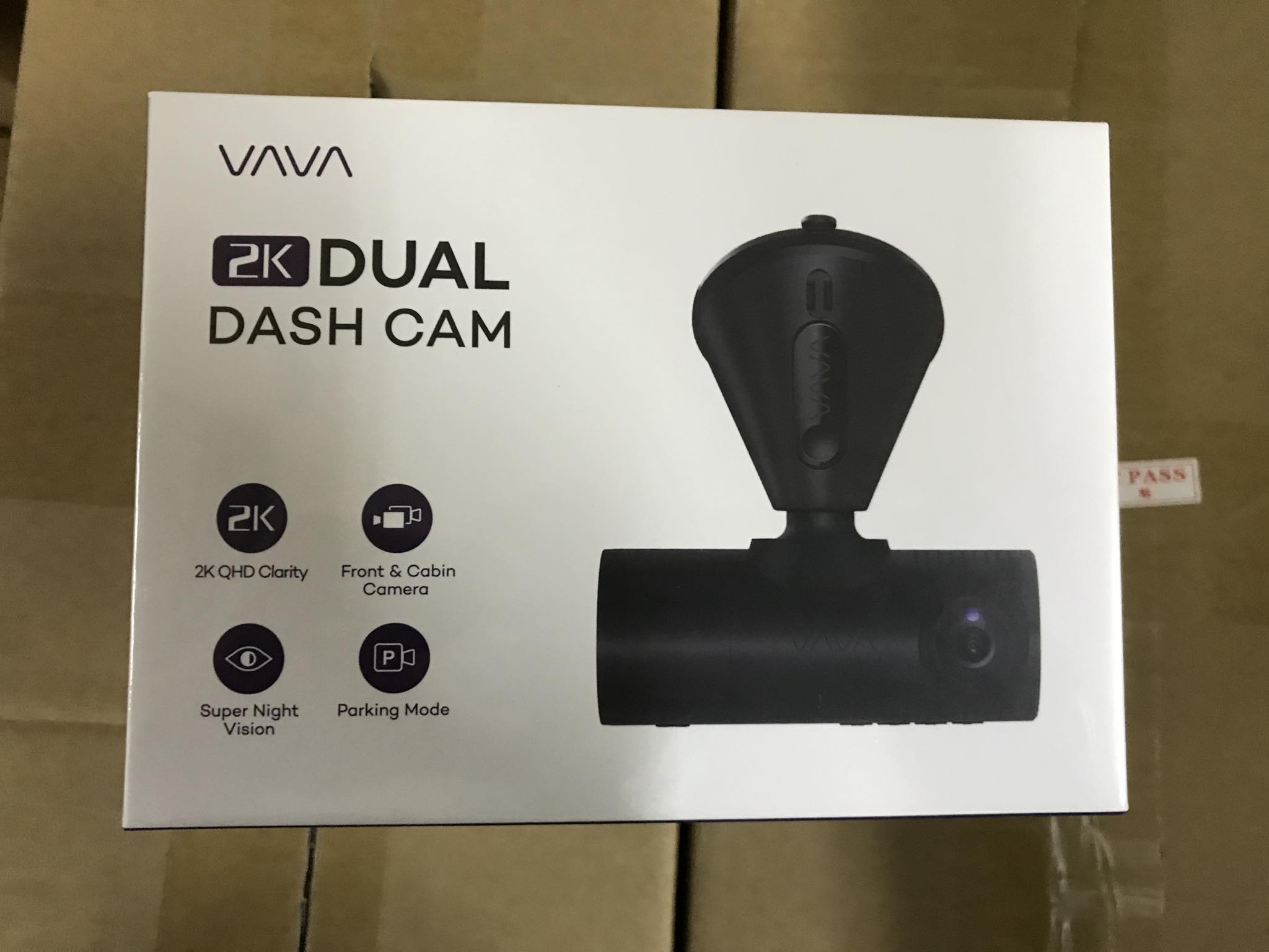 VAVA 2K Dash Cam