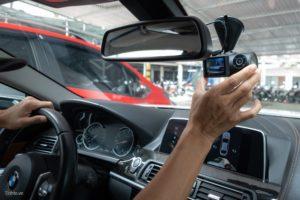 VAVA 2K Dual Dash Cam lắp BMW