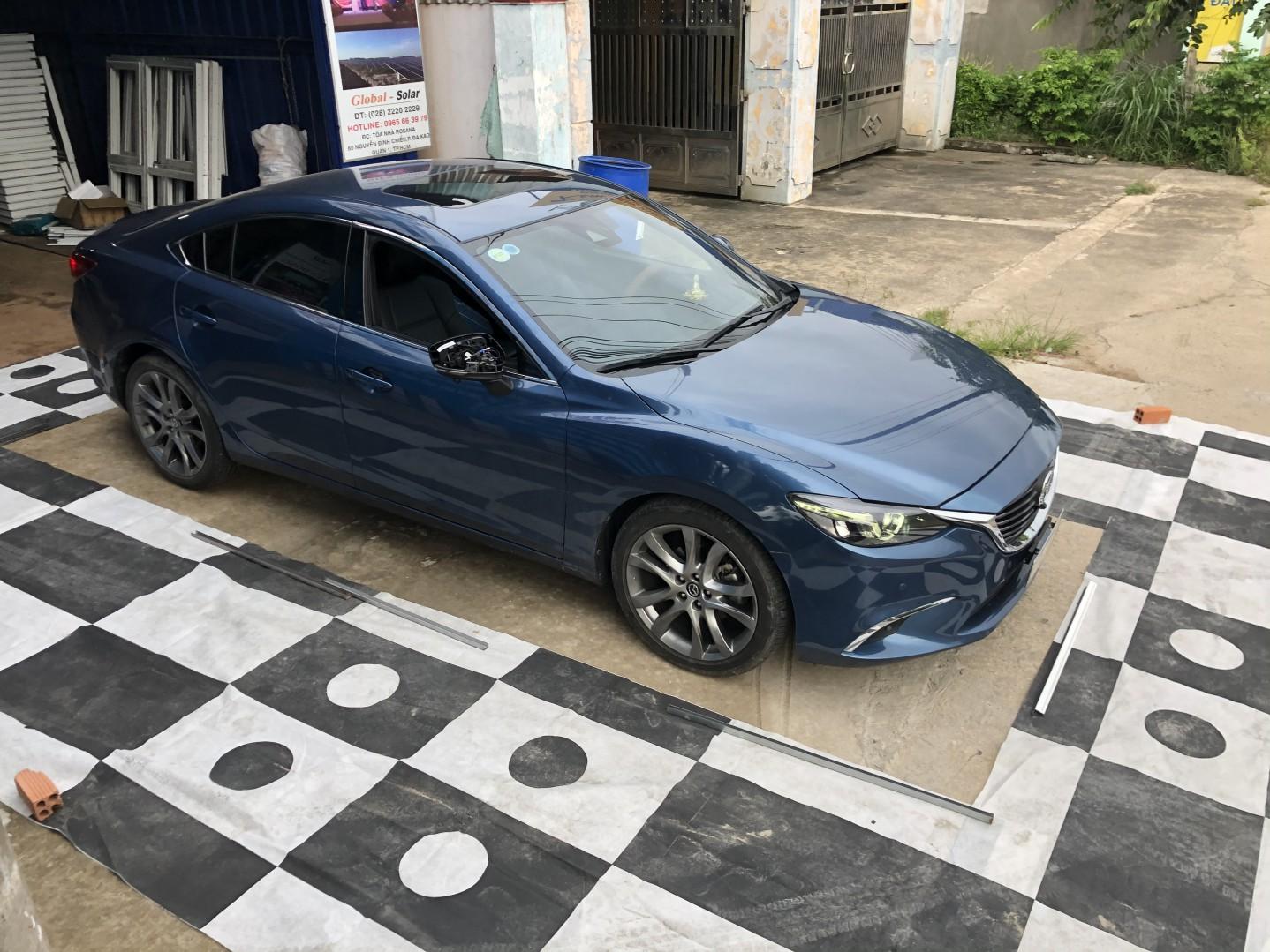 Mazda 6 2019 lên camera 360