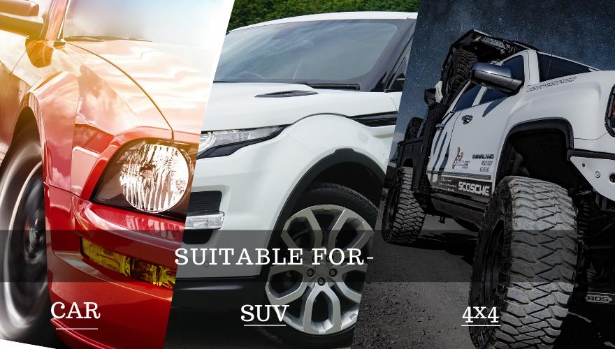 Cảm biến Fobo Tire có thể gắn trên nhiều loại xe