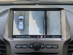 Camera 360 KATA Ford Ranger trên màn hình Android