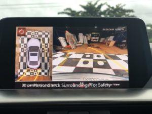 Camera 360 Mazda 6 2019 hiển thị đường đánh lái