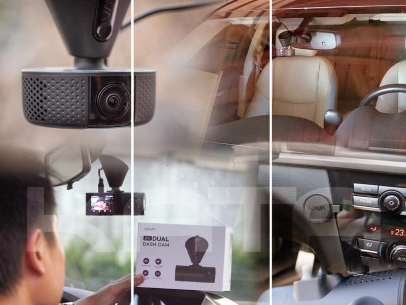 Thiết kế camera hành trình VAVA Dual 2K khác biệt với 3 mã sản phẩm còn lại
