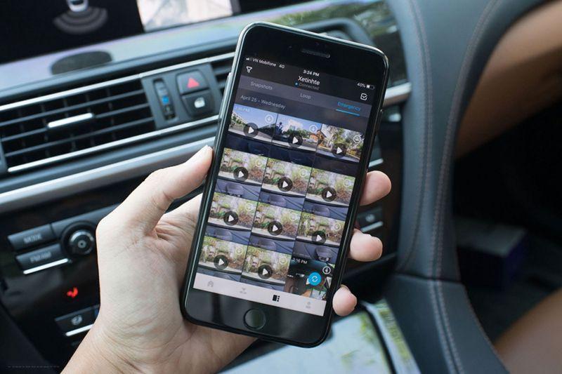 VAVA Dash Cam FullHD 1080p có điểm gì đặc biệt