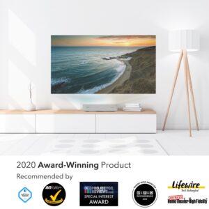 Giải thưởng dành cho máy chiếu VAVA 4K Laser