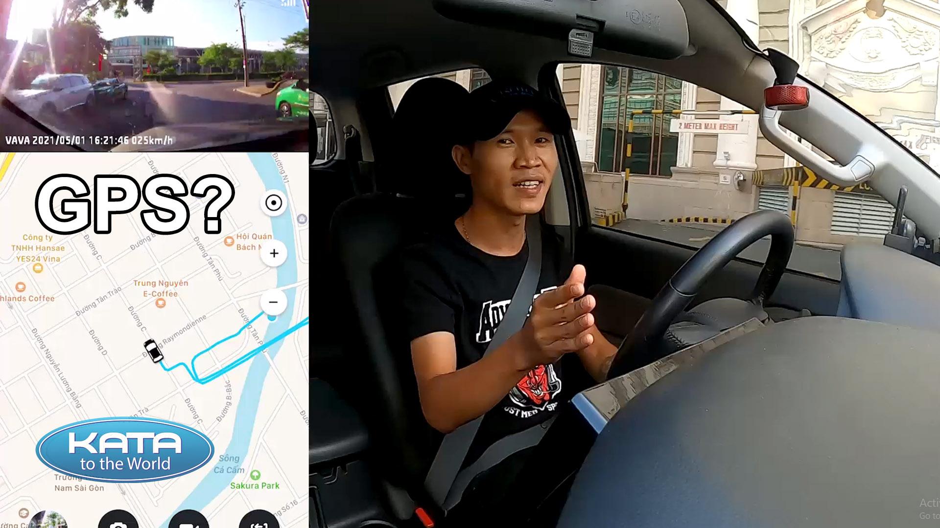 GPS trên camera hành trình VAVA